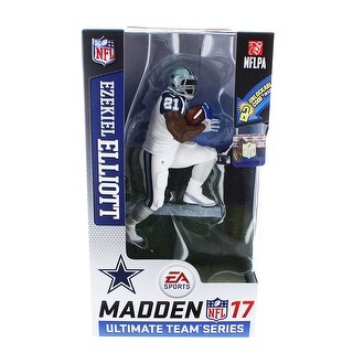 Dallas Cowboys Ezekiel Elliot (Color Rush Uniform) Madden NFL 17 Ultimate Team Series 2 Figure Chase - multi