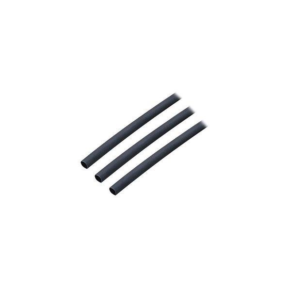 Ancor Adhesive Lined Heat Shrink Tubing - 3/16 x 3 inches - 3-Pack - Black Adhesive Lined Heat Shrink Tubing - 3/16 x 3 inches