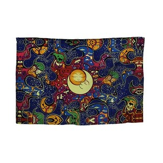 Carpe Noctem Celestial Seize the Night Colorful Cotton Tapestry 60 X 90 Inch