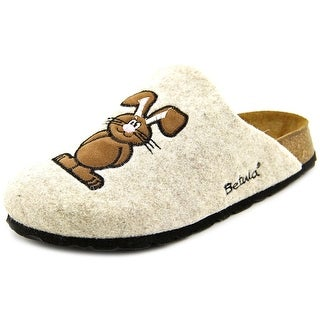 Betula House N Round Toe Canvas Mules