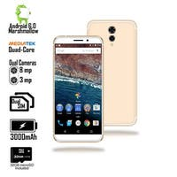 Indigi Unlocked 4G LTE 5.6-inch Android 6.0 Quad-Core 1.2GHz SmartPhone (Fingerprint + 2SIM Slots + Bluetooth 4.0)+ 32gb microSD