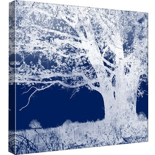 "PTM Images 9-98791  PTM Canvas Collection 12"" x 12"" - ""Screened Tree J"" Giclee Rural Art Print on Canvas"
