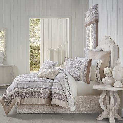 Royal Court Chelsea Grey Comforter Set