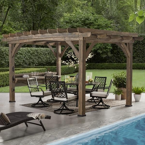 Backyard Discovery Silverton Cedar Pergola (14 x 10 ). Opens flyout.