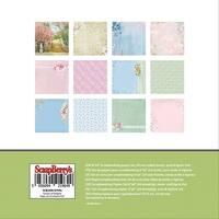 """Scrapberry's Garden Of Delights Paper Pack 6""""X6"""" 24/Pkg-12 Designs/2 Each"""