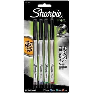 Sanford Brands 1742662 Sharpie Pens Fine Point 4/Pkg