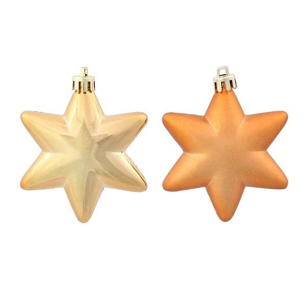 2'' Copper Stars Asst 36/Box