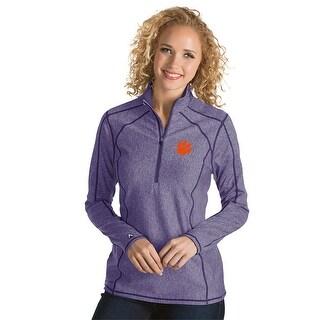 Clemson University Ladies Tempo 1/4 Zip Pullover