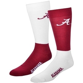 Alabama Crimson Tide 4 Square Mismatched Socks
