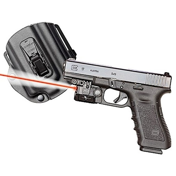 Viridian Universal Sub-Compact Red Laser W/ Tactical Light For Glock  17/19/22/23