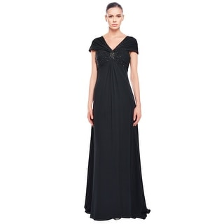 Theia Sophisticated  Sequin Gown Dress - 2