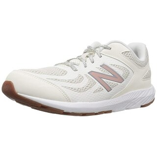 Kids New Balance Girls KJ519PGY Low Top Lace Up Running Sneaker