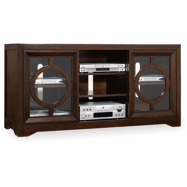 shop hooker furniture 5066 55402 60 wide hardwood media cabinet rh overstock com