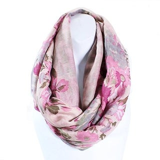 Flower Infinity Scarf Lightweight (4 options available)
