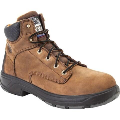 "Georgia Boot Men's G6644 FLXPoint Waterproof Composite Toe 6"" Boot Brown"