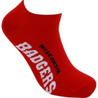 Wisconsin Badgers No Show Socks