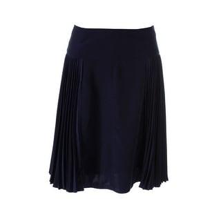 Nanette Lepore Womens Pleated Knee-Length A-Line Skirt - 8