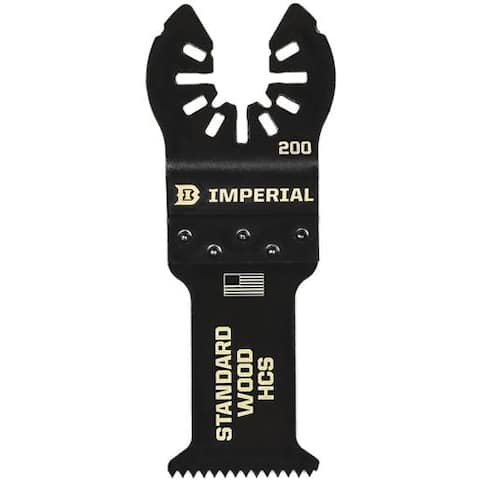 """Imperial Blades 1-1/4"""" Fast Wood Blade IBOA200-1 Unit: EACH"""
