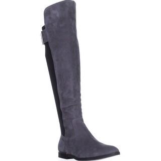 6649ff8f3c9 Shop Calvin Klein Priya Wide Calf Knee-High Boots
