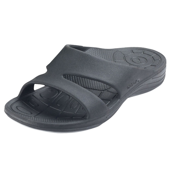3ca9a29e7c7154 Women  x27 s Aetrex Lynco Slide Sandals - Orthotic Plantar Fasciitis Support