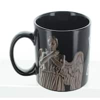 Doctor Who Weeping Angel 11oz Heat Reveal Mug - Multi