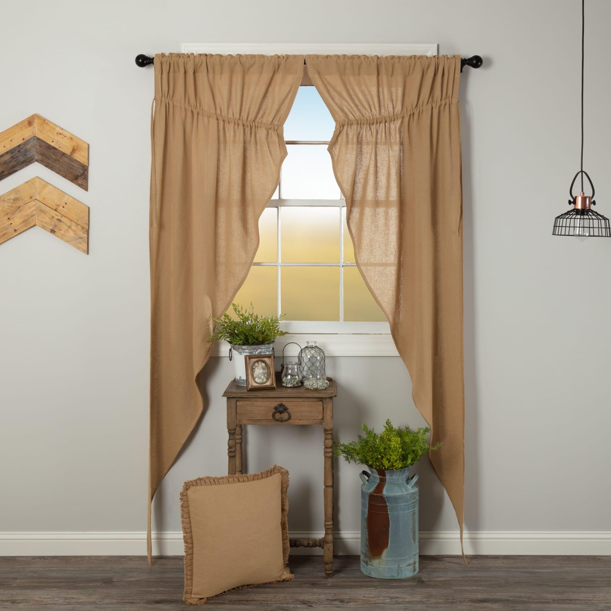 Rollos Gardinen Vorhange Vhc Farmhouse Country Prairie Curtain Set 2 Drapes Cotton Decorative Pick Color Mobel Wohnen Raizlatina Com Br