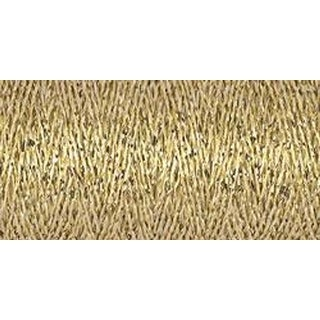 Gold - Gutermann Sparkle Metallic Thread 50M