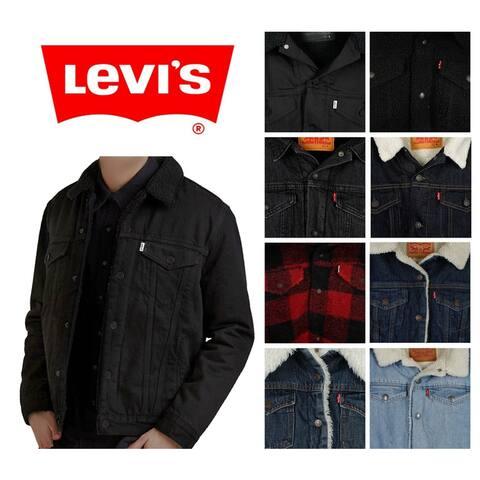 Levi's Men's Sherpa Lined Trucker Jacket