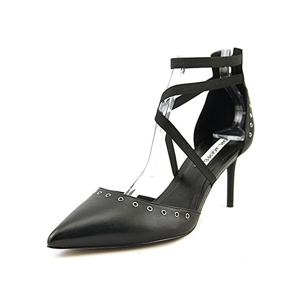 Karl Lagerfeld Paris Womens Avril Dress Pumps Grommet Pointed Toe