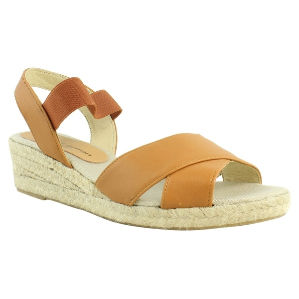 3a5c340b2c73 Shop Patricia Green Womens Tan Espadrille Sandals Size 10 New - On ...