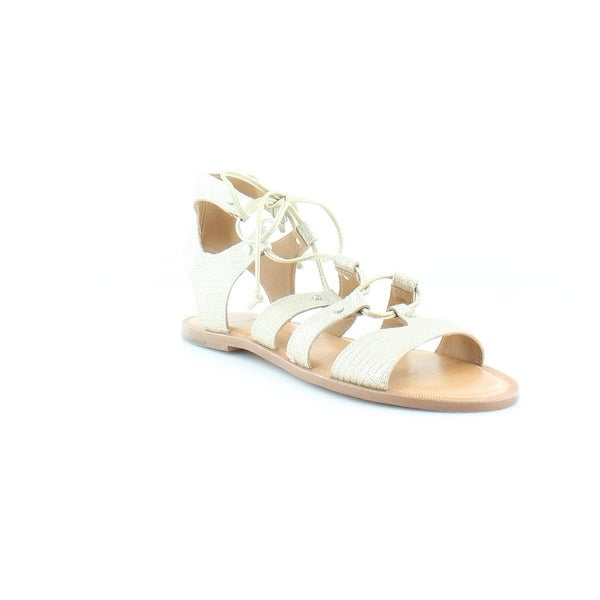 Dolce Vita Jasmyn Women's Sandals & Flip Flops Gold Lizard