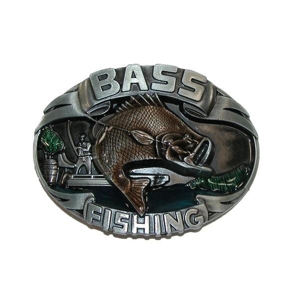 CTM® Bass Fishing Belt Buckle