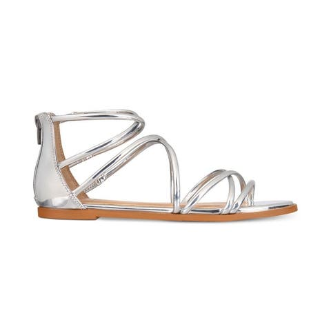 Material Girl Womens Westley Open Toe Casual Gladiator Sandals