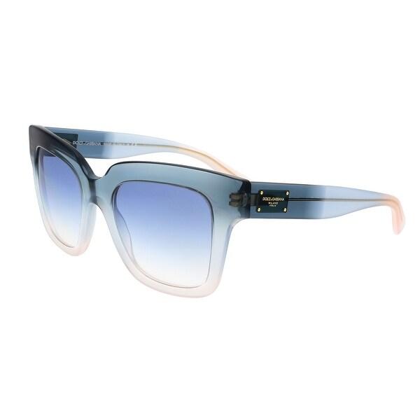 Dolce&Gabbana DG4286 305919 Blue Gradient Square Sunglasses - 51-20-140