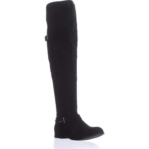 Bar III Womens daphne Cap Toe Knee High Fashion Boots