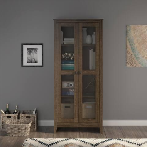 Avenue Greene Tamarisk 31.5 inch Wide Storage Cabinet with Mesh Doors