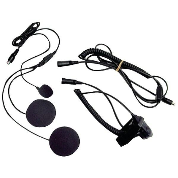 Midland Avph2 2-Way Radio Accessory (Closed-Face Helmet Headset Speaker/Microphone)