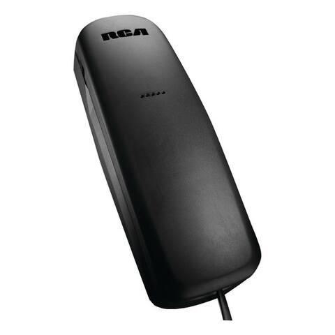 Rca 1103-1bkga slim-line corded telephone
