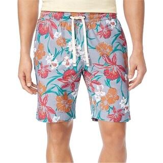 "Tommy Hilfiger Men's 7"" Mitch Floral-Print Shorts - XXL"