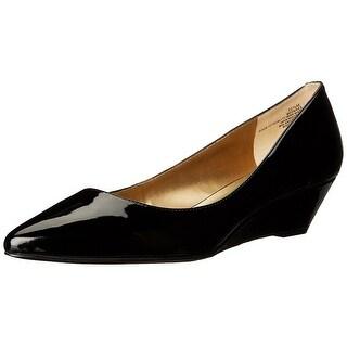 Bandolino Womens Yara Pointed Toe Slide Flats