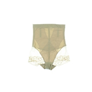 Sweet Cherry Shapewear Womens Lace-Trim Girdle Panty - M
