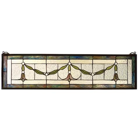 Meyda Tiffany 98102 Stained Glass Tiffany Window from the Arts &