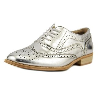 Wanted Babe Women Wingtip Toe Synthetic Oxford