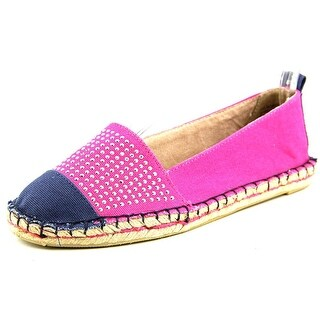 White Mountain Aura Round Toe Canvas Espadrille