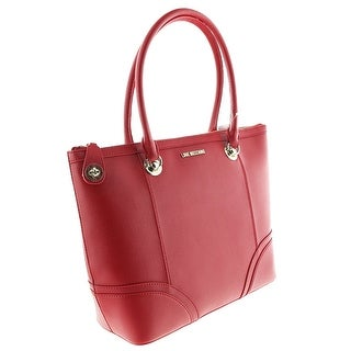 Moschino JC4235 0513 Red Shopper/Tote - 13-12.5-5