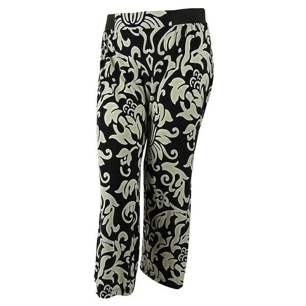 INC International Concepts Women's Elastic Waistband Pants - dream lady
