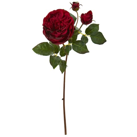 """22"""" Rose Artificial Flower (Set of 6) - Height: 22 In."""