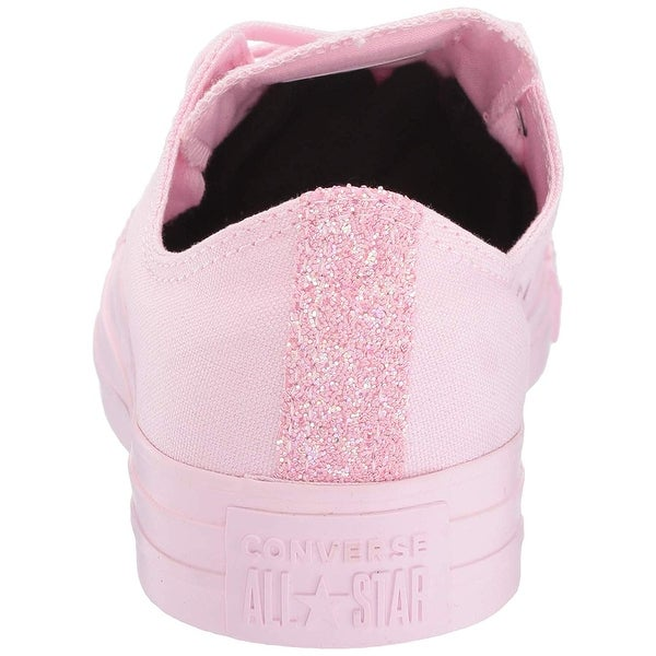 Star Glitter Accent Low Top Sneaker