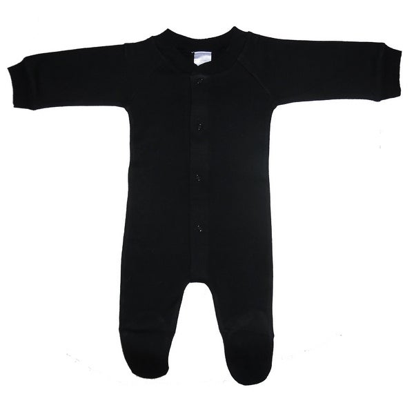 Bambini Black Interlock Sleep & Play - Size - Large - Unisex