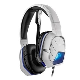 PDP White Wired Headset Afterglow LVL5+ For Sony PlayStation 4 PS4